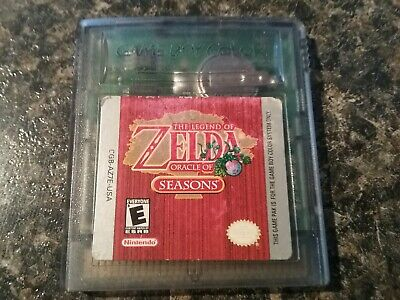 The Legend of Zelda: Oracle of Seasons - Nintendo Game Boy Color GBC Authentic