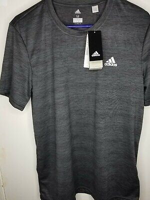 Adidas Climalite Mens Gray Performance Tech Tshirt Size Med New With Tags
