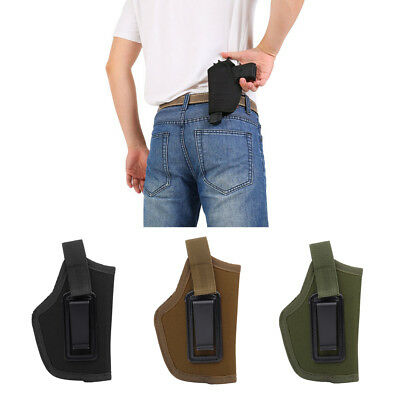 Hunting Tactical Pistol Concealed Belt Clip IWB Holster For All Compact Pistols