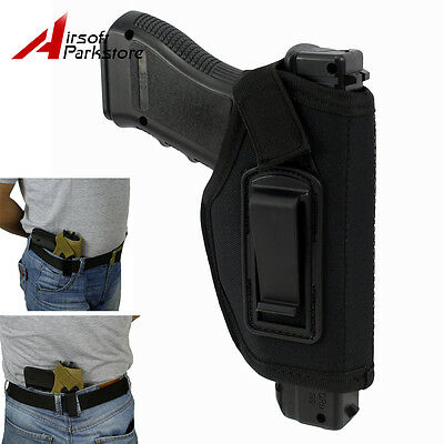 Concealed Belt IWB Holster Inside Waistband for All Compact Subcompact Pistols