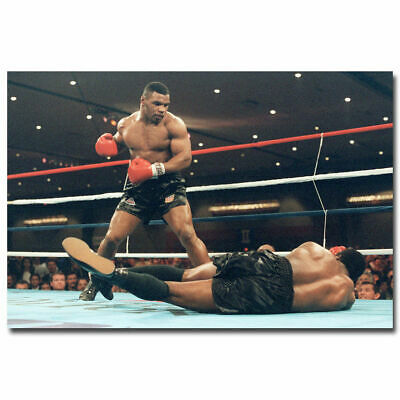 G-244 Mike Tyson Boxing Boxer Motivational Fabric Poster 12x18 24x36 27x40