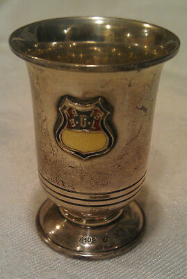 Vintage Jigger Shot Glass Cup 830S Silver Norway