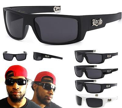 d8d8d1f2b8d1 Authentic LOCS Sunglasses Black Gangster Shades Super Dark Cholo Glasses  Wrap