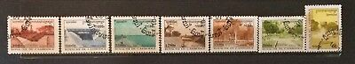 World Stamps Cambodia 1998 Line 7 Stamps Public Gardens CTO Stamps (B3-155)