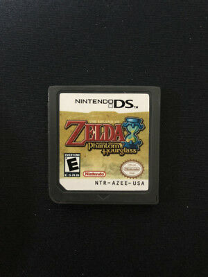 Legend of Zelda: Phantom hourglass USA, English For Nintendo 3ds game card