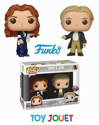 Funko Pop Titanic Pack 2 Rose & Jack Exclu Special Edition