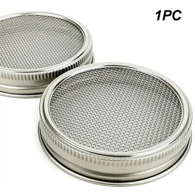 Lid Kit For Wide Mouth Sprouting Jar Durable For Sprouts Growing Stainless Steel