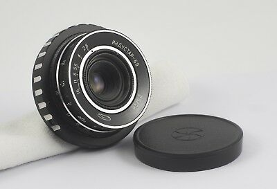 INDUSTAR 69 F/2.8 28mm LENS MTF MICRO FOUR THIRDS 4/3 PRECISE INFINITY