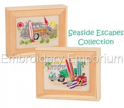 Seaside Escapes Collection - Machine Embroidery Designs On Cd Or Usb