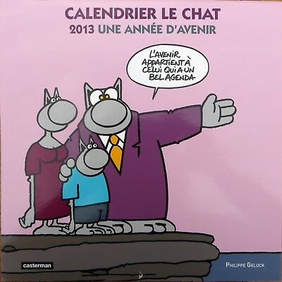 Calendrier Le Chat Geluck 2013