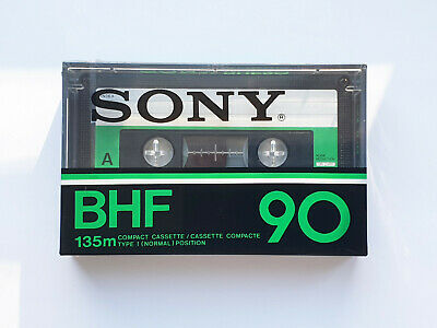 SONY BHF 90 cassette tape, Made in France, Year 1978