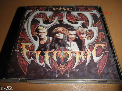 THE CULT cd ELECTRIC rick rubin WILD FLOWER lil devil LOVE REMOVAL MACHINE