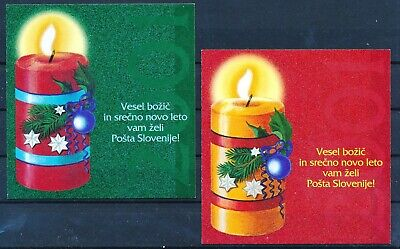 [H11430] Slovenia 2000 : Good Set of 2 Very Fine Adhesive Complete Booklets
