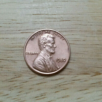 US One Cent 1980 - Higher Grade