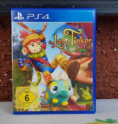 The Last Tinker City Of Colors Ps4 Playstation 4 Spiel BLITZVERSAND!!!