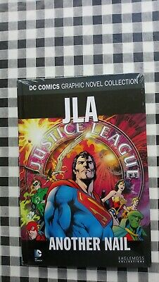 DC Comics graphic novel JLA Another Nail #49 eaglemoss