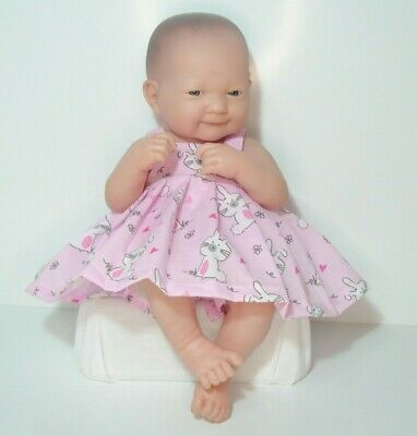 """14"""" Pinny Dress Dolls Clothes Outfit Fit Little Baby Born First Annabell"""