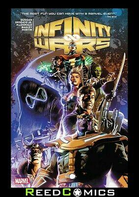 INFINITY WARS GRAPHIC NOVEL New Paperback Collects 6 Part Series + more