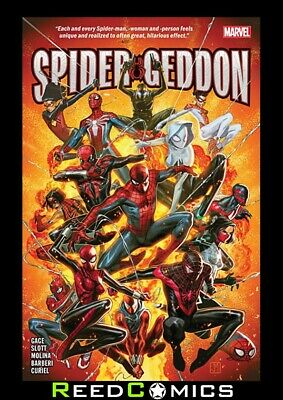 SPIDER-GEDDON GRAPHIC NOVEL New Paperback Collects #0-5 + Vault of Spiders #1-2