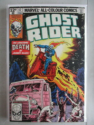 Ghost Rider Vol. 1 (1973-1983) #42 FN/VF UK Price Variant