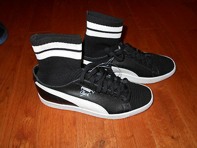 PUMA CLYDE SOCK NYC Walt Frazier SZ 8 Basketball Black White New Shoes  Sneakers -  54.99  814185462