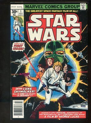 Star Wars 1 VFNM 1977 Marvel