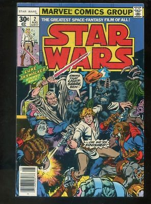 Star Wars 2 Very Fine- 1977 Marvel