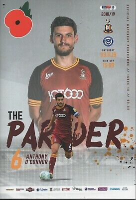 18/19 Bradford City v Portsmouth
