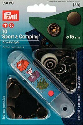 Prym Sports & Camping Press Fasteners Antique Brass - pack of 10