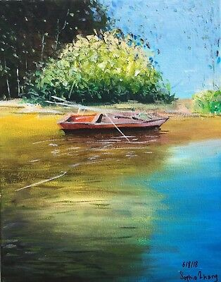 Landscape Painting. Original By Sophia Zhang