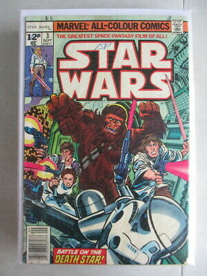 Star Wars (1977-1986) #3 VG UK Price Variant