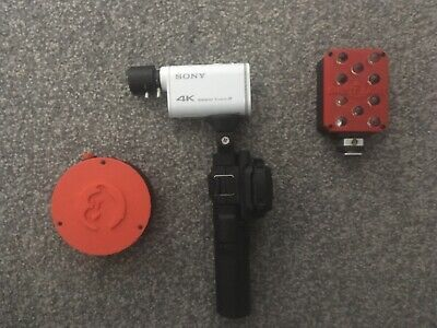 Ghost hunting infrared Camera and Screen And Infrared Light And 360 Laser grid