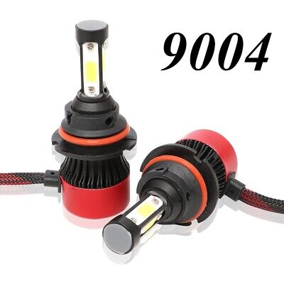 9004 HB1 4-Sides LED Headlight High & Low Beam 6000K White Bulb 72W 16000LM Lamp
