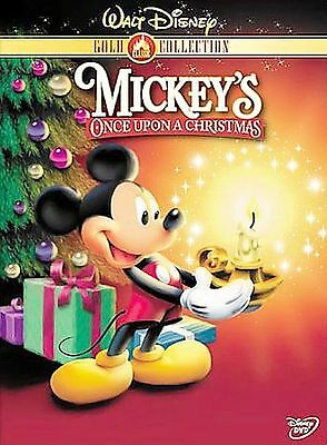 Mickey's Once Upon A Christmas DVD (Disney Gold Classic Collection) B108