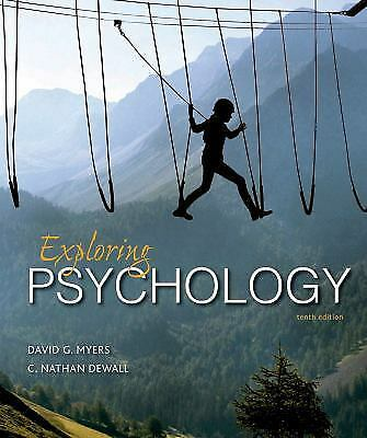 Exploring Psychology by David G. Myers and C. Nathan DeWall (2016, Paperback)