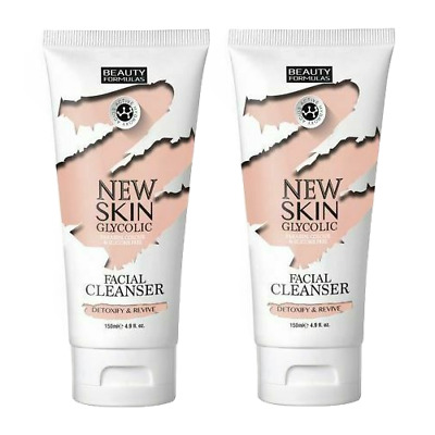 Beauty Formulas - New Skin Glycolic Facial Cleaner - 150ml