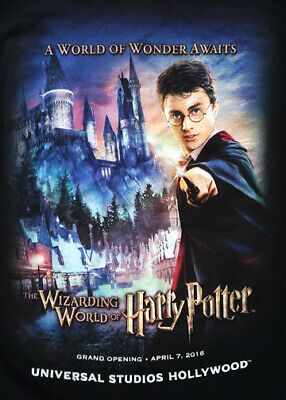 Harry Potter Grand Opening Universal Studios Hollywood T-Shirt – Size S