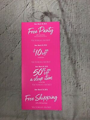 Victoria's Secret Coupons 4 Total Expires March 18th