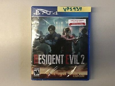 Resident Evil 2 II (Sony Playstation 4, PS4, 2019) BRAND NEW FACTORY SEALED!!!!!
