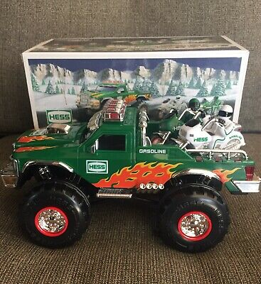 2007 NIB Hess Monster Truck With Motorcycles