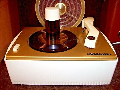 Rca Victor 6-Jy 45 Rpm Record Player Changer Turntable Phonograph - Restored '56