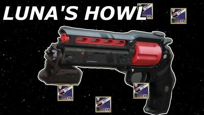 Destiny 2 Luna's Howl Mountain Top The Recluse Smg Rank 2100 Guaranteed[Ps4] 24h
