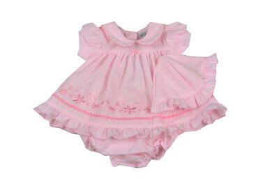 Premature Preemie Baby Girls clothes Dress and Knickers Pink 3-5lb 5-8lb reborn