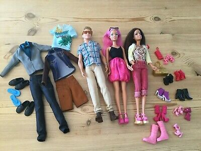 Barbie And Ken Doll Bundle
