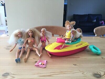 Barbie And Friends Jetski Doll Bundle