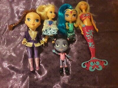 Disney, Mattel, Simba mixed doll bundle