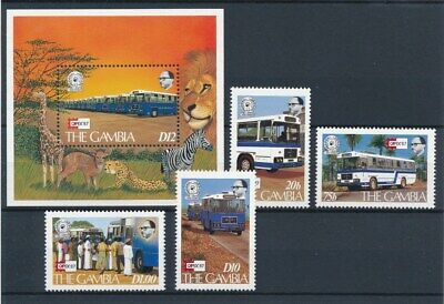 [70502] Gambia 1987 Transportation good set + sheet Very Fine MNH stamps