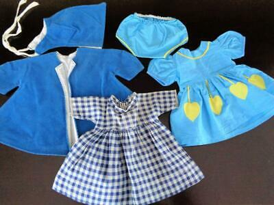 "Vintage 1950s Doll Clothes for 18"" Toni Madame Alexander Margaret Nannette BLUE"