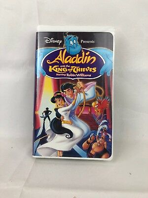 Used VHS Disney Aladdin and the King of Thieves