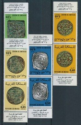 [71075] Morocco 1976 good set in pair Very Fine MNH stamps